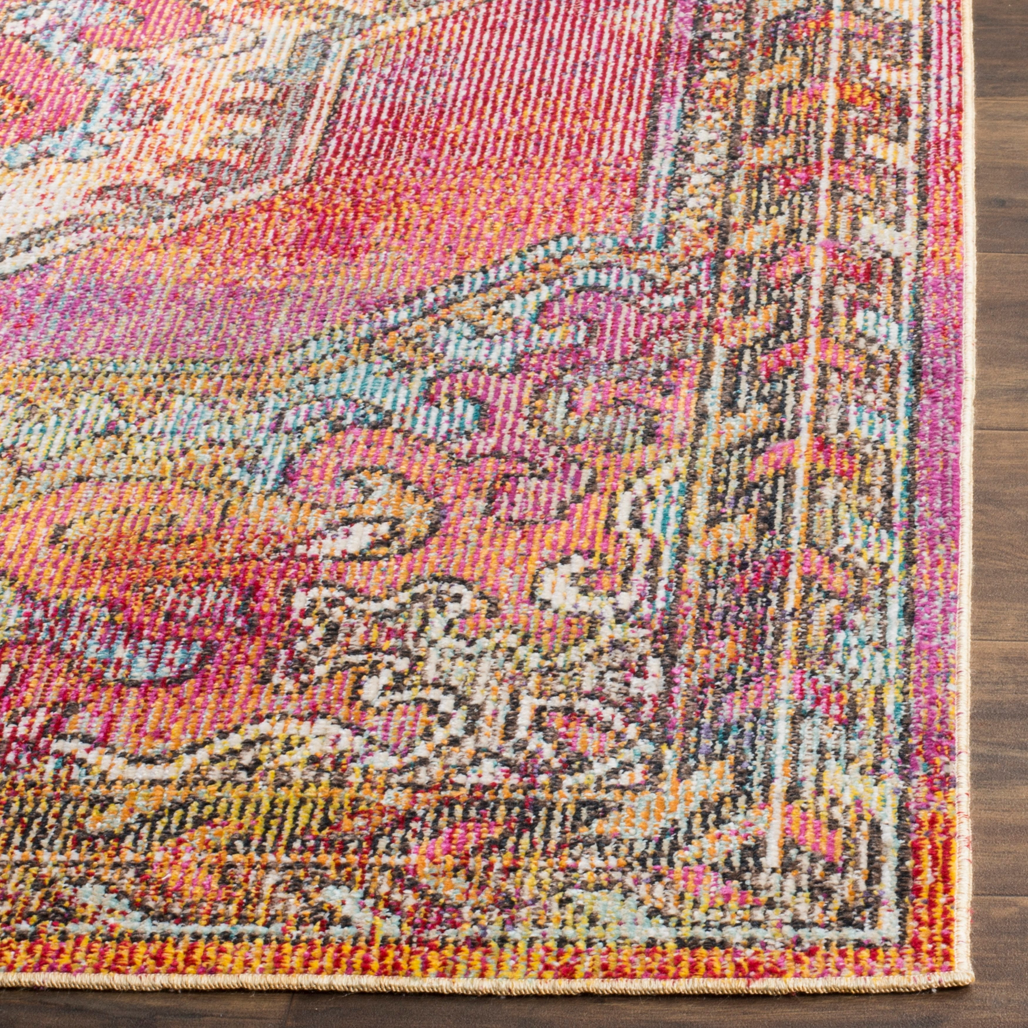 thumbnail 10 - Safavieh-Crystal-Merna-Vintage-Boho-Oriental-Rug