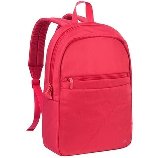Rivacase 8065RED 15.6 in. Laptop Backpack, Red - 12