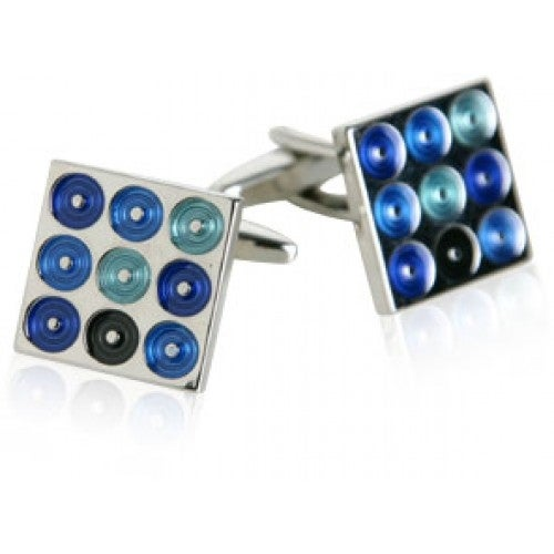 Blue Turntables Cufflinks