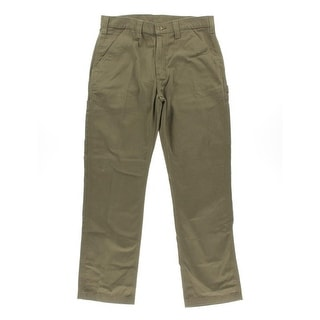 Carhartt Mens Dungaree Pants Twill Relaxed Fit