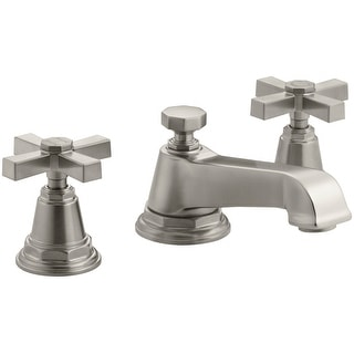 Kohler K-13132-3A  Pinstripe Widespread Bathroom Faucet with Ultra-Glide Valve Technology