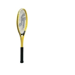 Sportime Yeller 24 in Junior Tennis Racquet, Ages 9 to 13, Yellow/Black