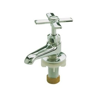 Mueller 120-003NLA Single Basin Hot/Cold Faucet, Chrome