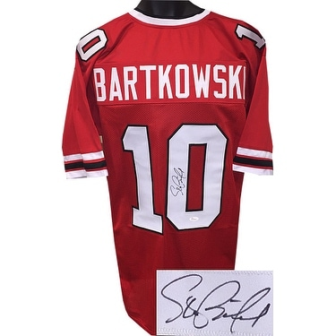 6d9a39d0d30 Shop Steve Bartkowski signed Red TB Custom Stitched Pro Style Football  Jersey XL JSA Witnessed Hologram - Free Shipping Today - Overstock -  21613809