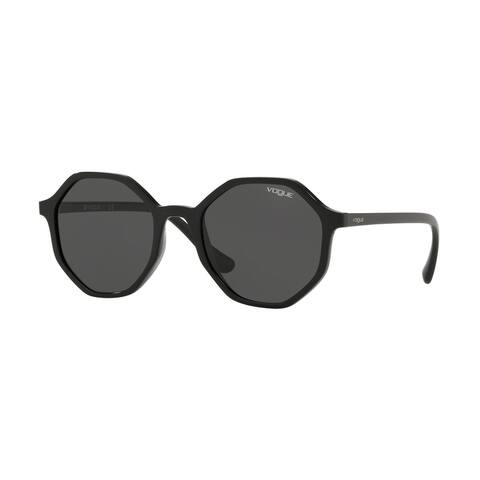 Vogue VO5222S W44/87 52 Black Woman Irregular Sunglasses