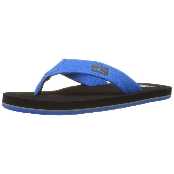 O'Neill NEW Black Phluff Daddy Men's Size 9M T-Strap Sandal Flip-Flops