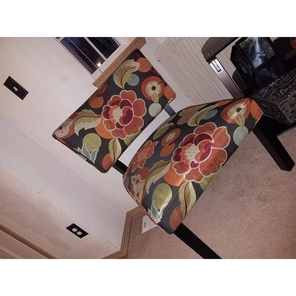 Powell Bianca Bright Floral Print Accent Chair   Free Shipping Today    Overstock.com   16574622