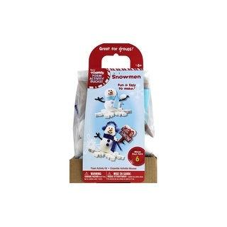 Darice Foamies Activity Kit Snowman 6pc