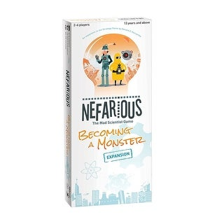 Nefarious Becoming a Monster Expansion - multi