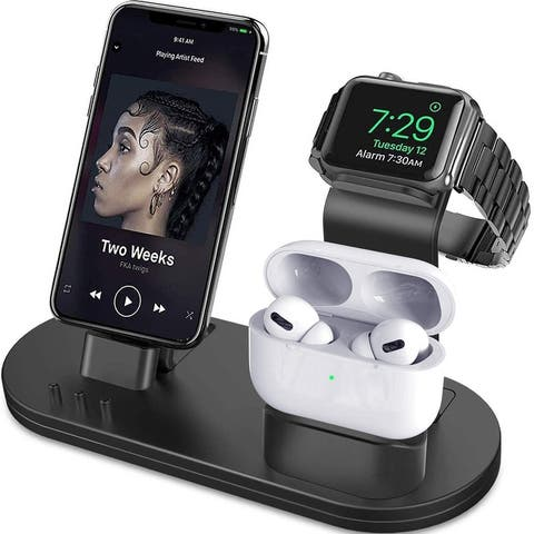 Charging Stand Compatible with iWatch Series AirPods iPhone Series