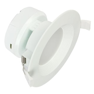 """Link to Westinghouse 5086000 4"""" LED IC Rated Baffle Recessed Trim Integrated - White Similar Items in Recessed Lights"""
