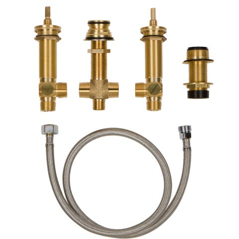 "Newport Brass 1-711 2-Valve Rough In with 3/4"" NPT Outlets"