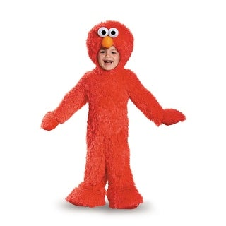 Disguise Elmo Extra Deluxe Plush Infant/Toddler Costume - Red
