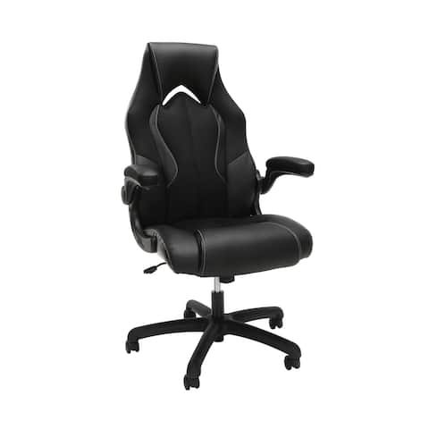 OFM Essentials Collection High-back Bonded Leather Gaming Chair