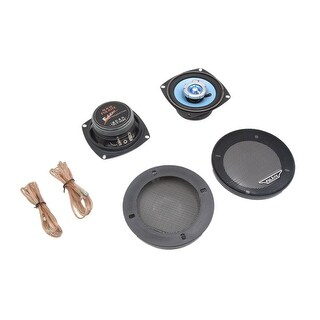 Pair 5 Inch Dia 200W 2-Way Car Stereo Audio System Coaxial Speakers Black