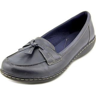 Clarks Ashland Bubble Women N/S Round Toe Leather Loafer