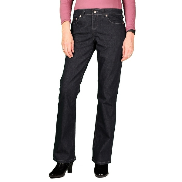 Dickies Womens Stretch Relaxed Boot-Cut Jean