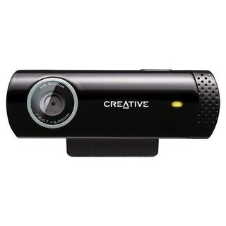 Creative Labs Webcam 73Vf070000000 Live Cam Chat Hd 720P Plug And Play Retail