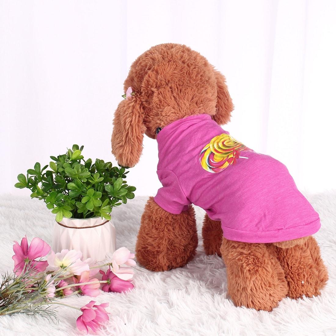 Dog T Shirt Puppy Small Pet Cat Sweatshirt Tops Clothes Apparel Vest Costume (XS)