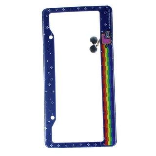 Nyan Cat License Plate Covers