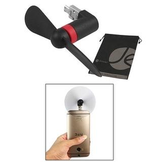 JAVOedge Black Plug In USB Portable Fan for Samsung Phone