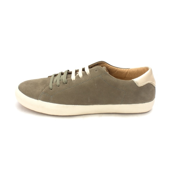 BUSSOLA Womens claire Suede Low Top Lace Up Fashion Sneakers - 9.5