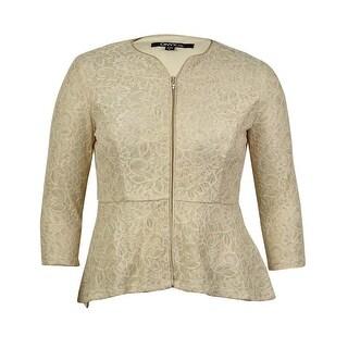 Onyx Nite Women's Lace Jacket - Champagne