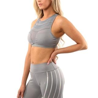 Link to Laguna Sports Bra - Grey Similar Items in Intimates