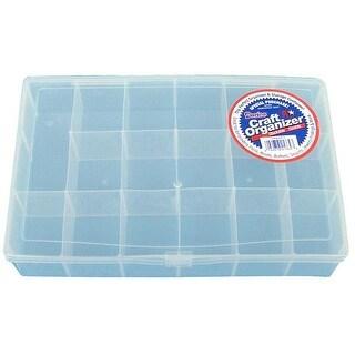 Darice Organizer Box 17 Compartment Clear