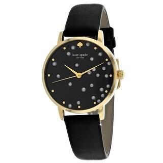 Kate Spade Women's Metro KSW1395 Black Dial watch