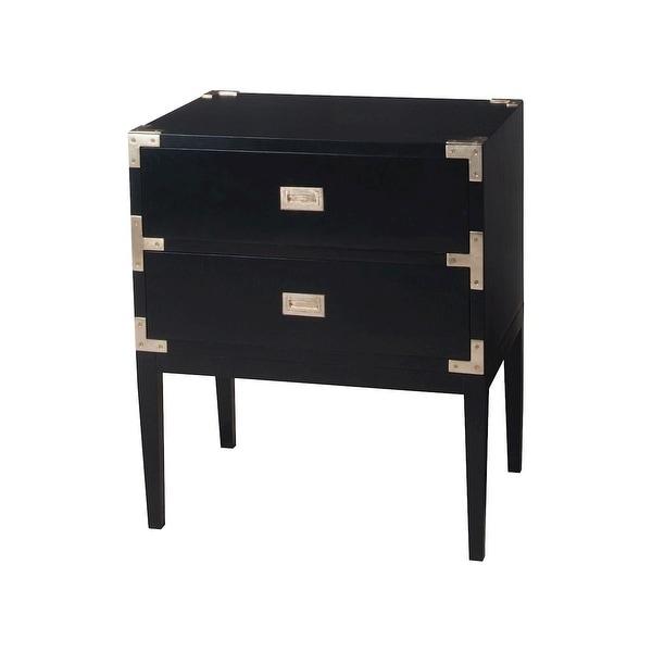 "Elk Home 6416503 25"" Wide 2 Drawer Mahogany Dresser - Grain De Bois Noir"