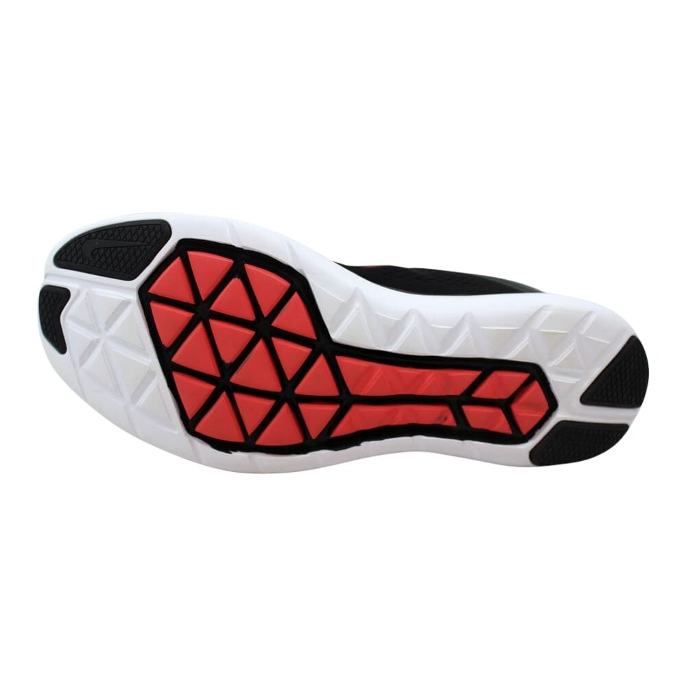 Nike Flex 2016 RN BlackUniversity Red Men's 830369 011 Size 10.5 Medium