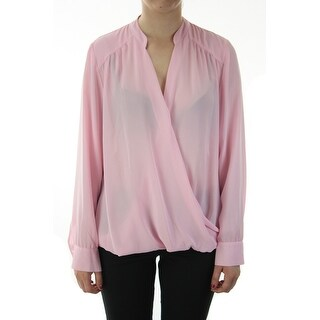 Inc International Concepts Frosted Petal Foldover Blouse 14