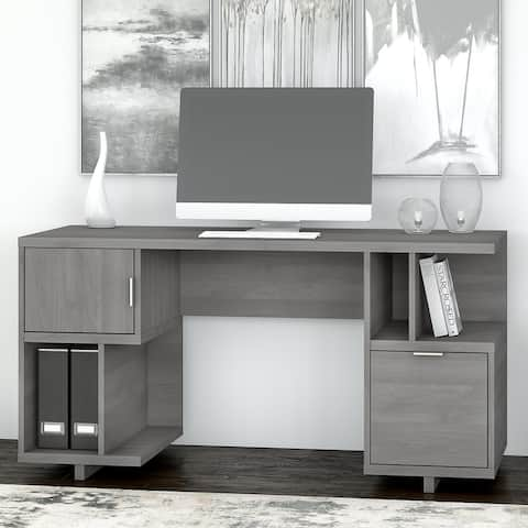 Madison Avenue Computer Desk with Storage from kathy ireland® Home