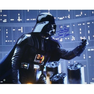 Dave Prowse Signed Darth Vader 16x20 I Am Your Father Photo Steiner