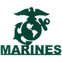 """Marines - Cardstock Laser Die-Cuts 4""""X6"""""""