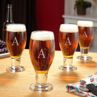 Concord Craft Beer Glasses Set of 4 (Engravable)