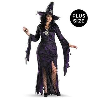 Sorceress Adult Costume - Black