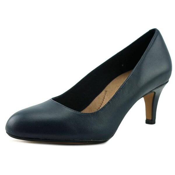 8e4ffd3e2ba8 Shop Clarks Artisan Heavenly Heart Women W Round Toe Leather Heels ...