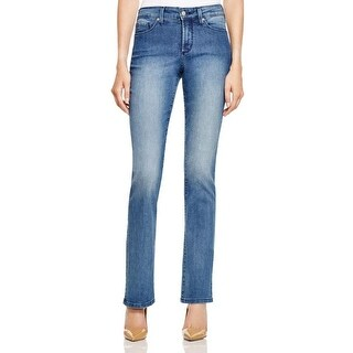 NYDJ Womens Petites Jeans Mini Boot cut Slimming