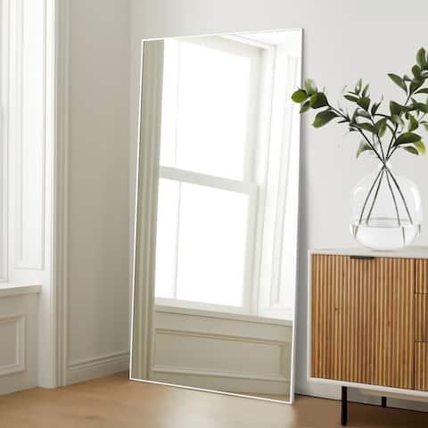 "71"" Riwen Modern Floor Full Length Mirror Wall Mirrors"