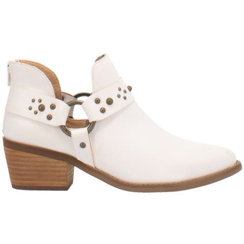 Code West Truth Told Western Womens Western Cowboy Boots Ankle Low