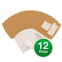 Oreck Buster B Replacement Vacuum Bags By EnviroCare - # PKBB12DW - 12 Bags