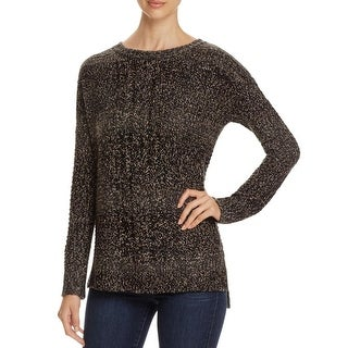 Sanctuary Womens Sierra Crewneck Sweater Cable Knit Marled