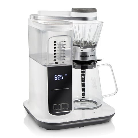 Convenient Craft Automatic or Manual Pour-Over Coffee Brewer