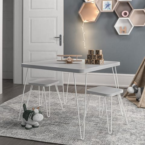 Avenue Greene Isaac Kids Activity Table with Stools