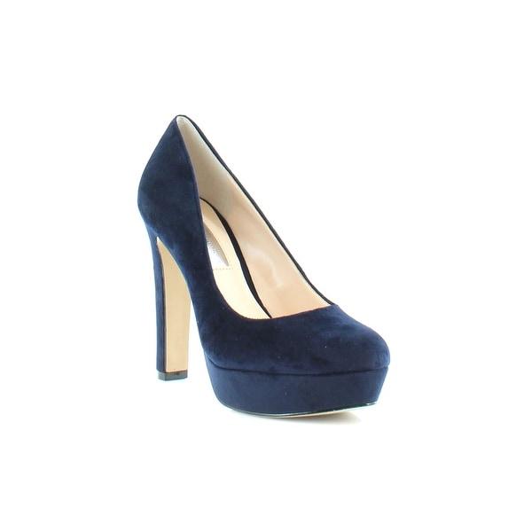 INC Anton Women's Heels Midnight Blue