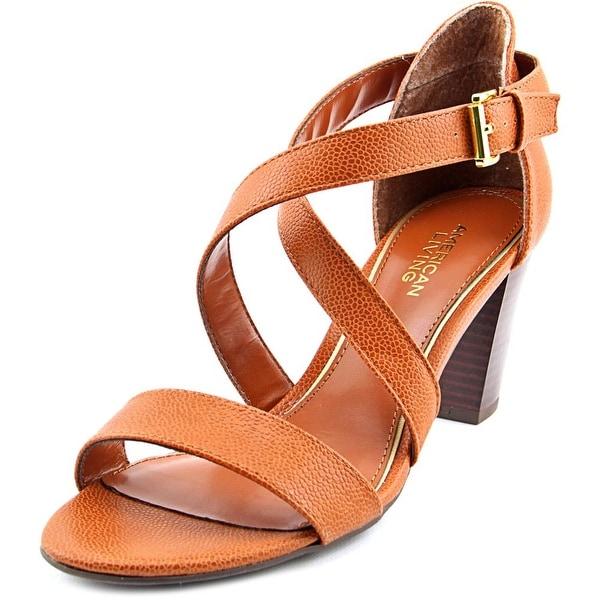 American Living London Women Tan Sandals