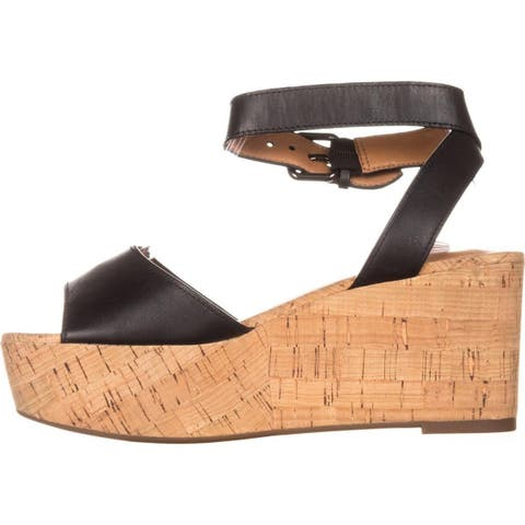 1eea869e5ef9 Coach Womens Becka Leather Open Toe Casual Ankle Strap Sandals