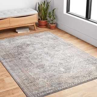 Alexander Home Heather Power Loomed Area Rug